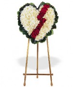 Broken Heart Funeral Wreath Jamaica