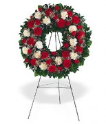 Hope and Honor Funeral Wreath Jamaica